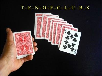 tour de magie facile a apprendre avec des cartes