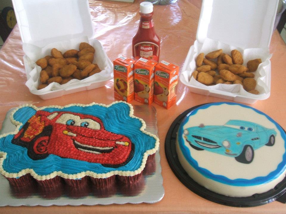 Ideas para tus Fiestas Infantiles: Fiesta de Cars (Rayo Mcqueen) 1