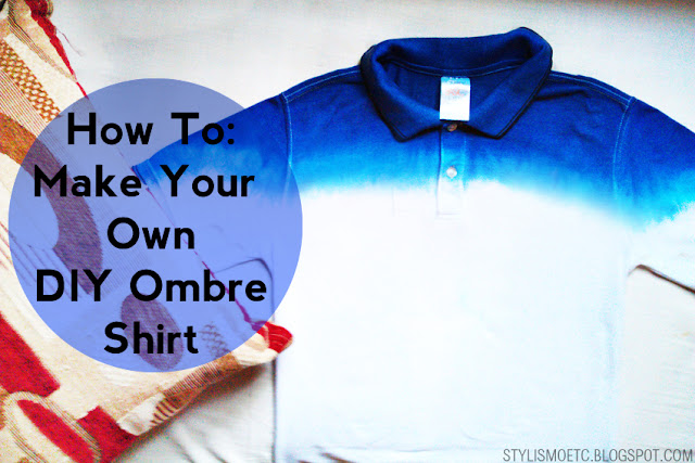 How to make a cheap diy ombre shirt ryan agustin for Cheap create your own shirt