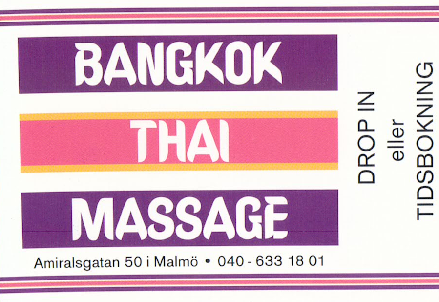 massage strand malmo thai massage