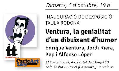 Jordi Riera, Enrique Ventura