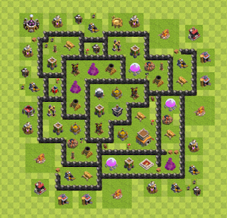 Base Hybrid Layout TH8 By. Zaikon
