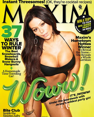 JWoww - Maxim January 2012 Jersey Shore Sexy Jennifer Farlery