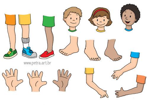 ESPAÇO EDUCAR: Atividades sobre corpo humano para a ...