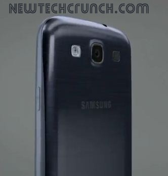 Samsung Galaxy s3 design features