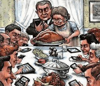 تأثير الهاتف المحمول على العلاقات الاجتماعية
