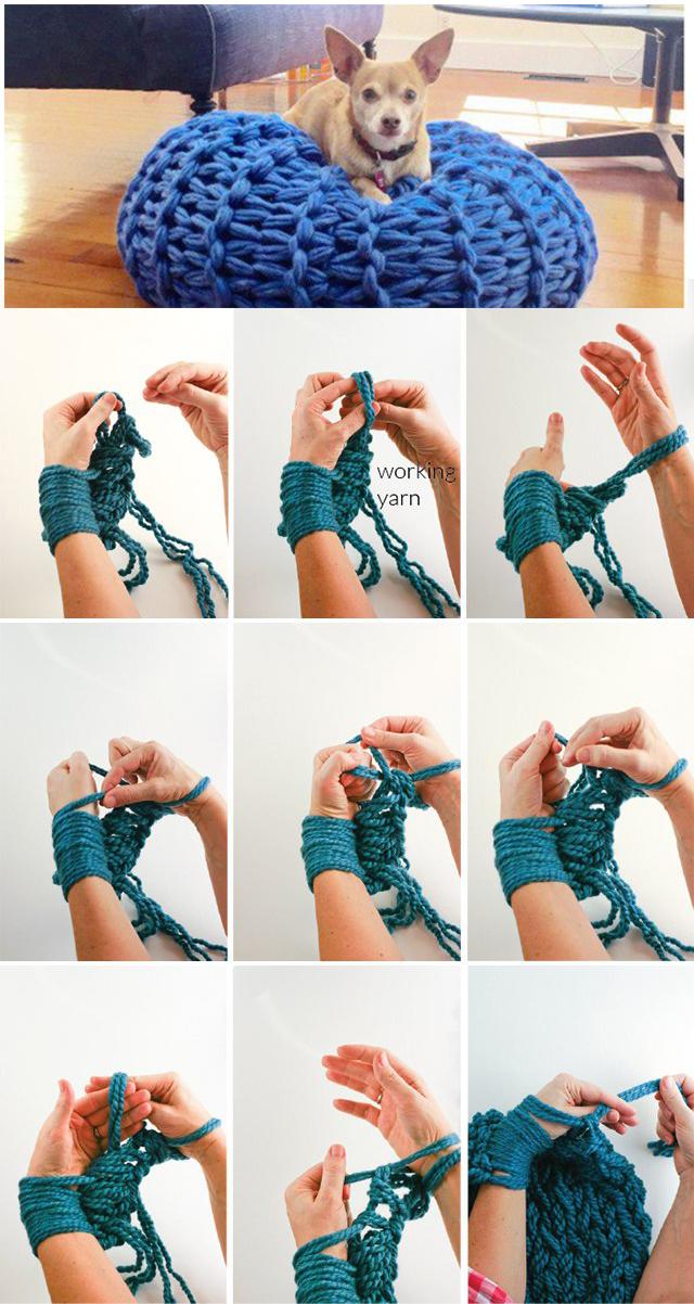 Вязание своими руками хомут