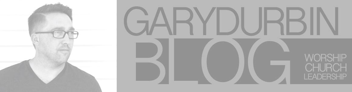 Gary Durbin Blog