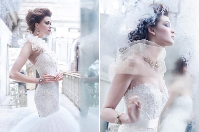 Lazaro fall 2012 bridal collection belle the magazine for Lazaro wedding dress uk