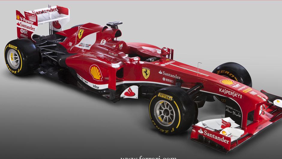car i 2013 Nova Ferrari F138 Grand Prix