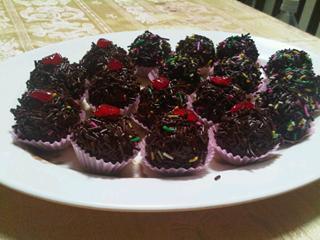 Resep Membuat Kue Coklat Bola Valentine