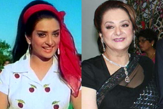 Bollywood 39 s yesterdays actresses then and now you visit for Saira banu granddaughter
