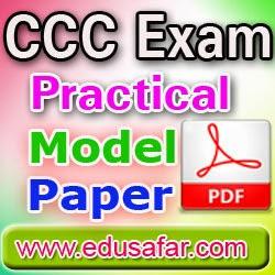 CCC Practical Exam Model Paper