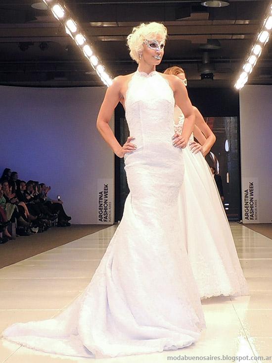 Vestidos de novia 2015. Moda Iara 2015. Desfile Argentina Fashion Week primavera verano 2015.