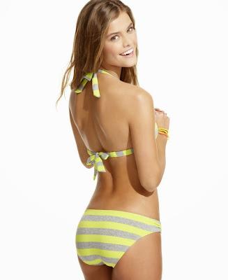 Nina Agdal Macy's sexy bikini models