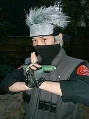 Naruto and Kakashi Hatake