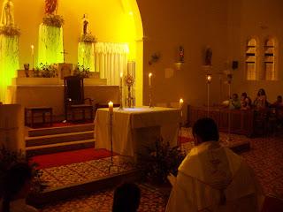 6ª noite de novena em honra ao Sagrado Coração de Jesus