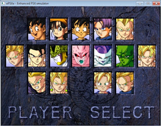 Cheat Game PS1 Dragon Ball GT Final Bout