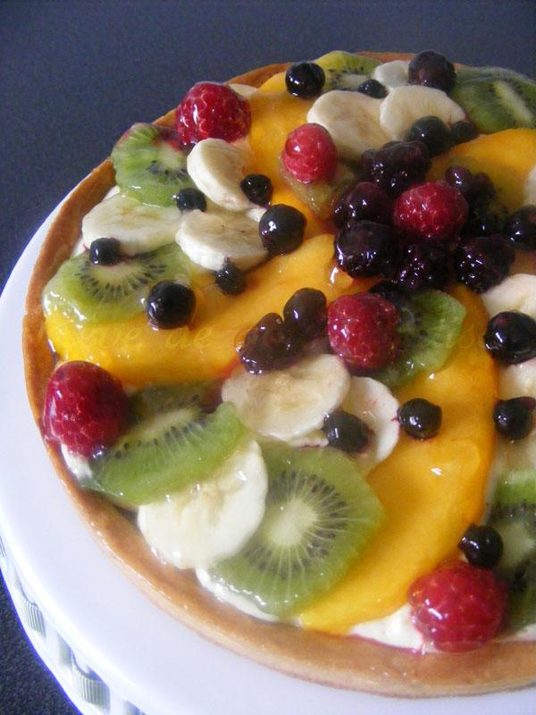 tarte multifruits cr me chiboust au citron paperblog. Black Bedroom Furniture Sets. Home Design Ideas