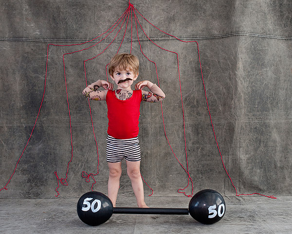 Strong Baby Costume images