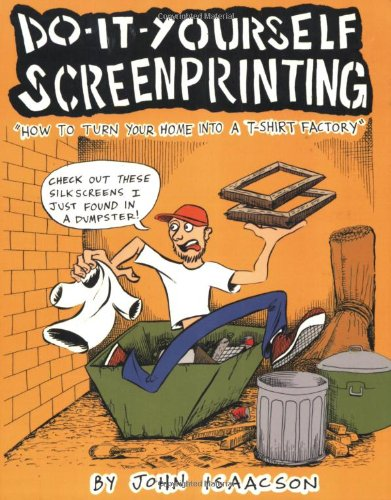 Book : Do It Yourself Screenprinting