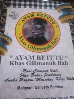 Makanan Bali di Bintaro Jaya