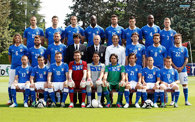Italy National Football Team Euro 2012 HD Desktop Wallpaper
