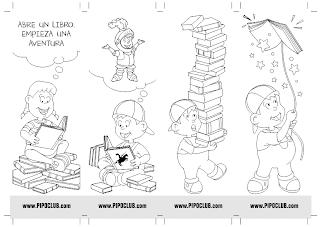 Punto de lectura, libro, leer, Pipo