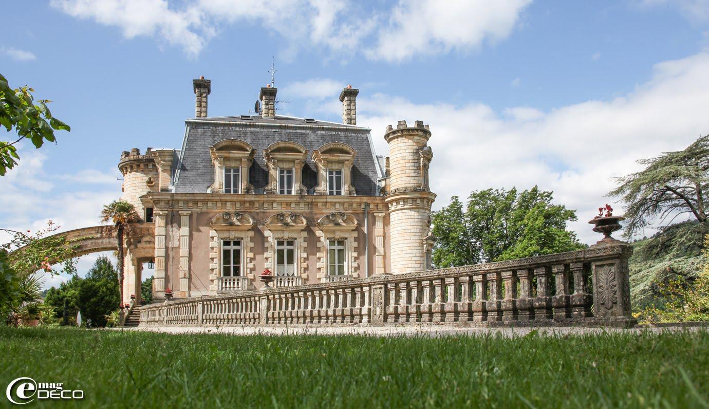 Château Clément, maison d'hôtes à Vals-les-Bains en Ardèche