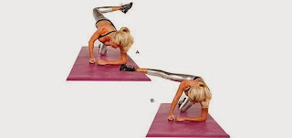 Ladies, Want more Slim body? Let's Try This Exercise