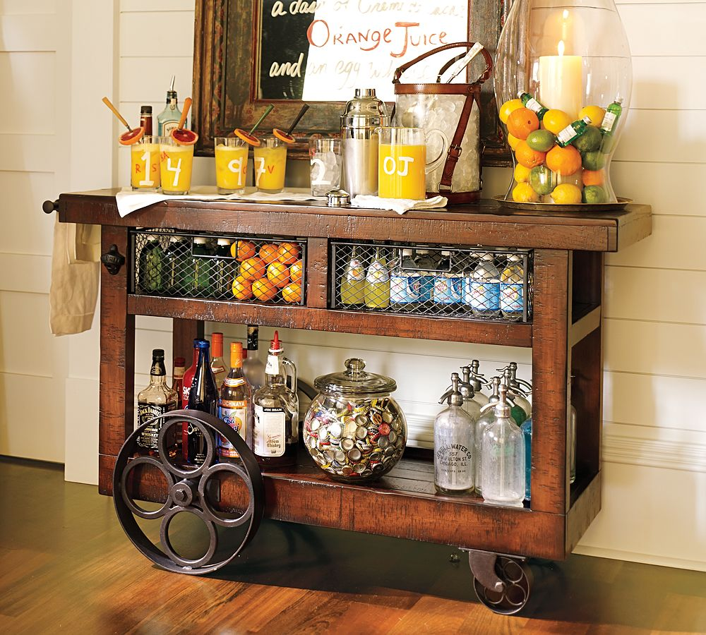 The pretty purveyor bar carts Good fruity drinks to get at a bar