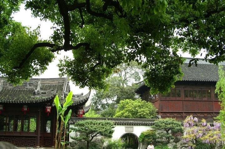 Hortibus le jardin de yuyuan a shanghai for Jardin 16eme