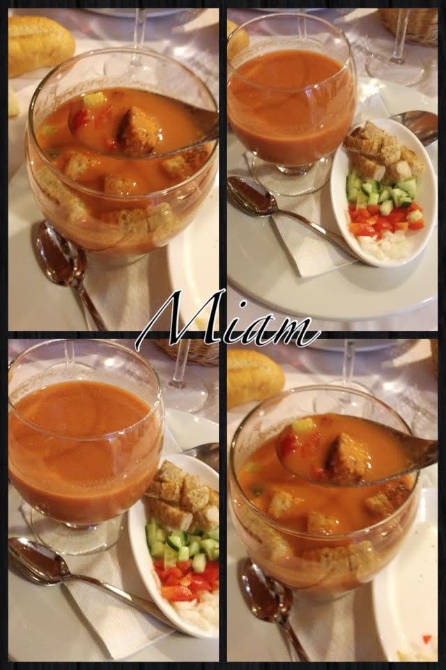 the cold soup