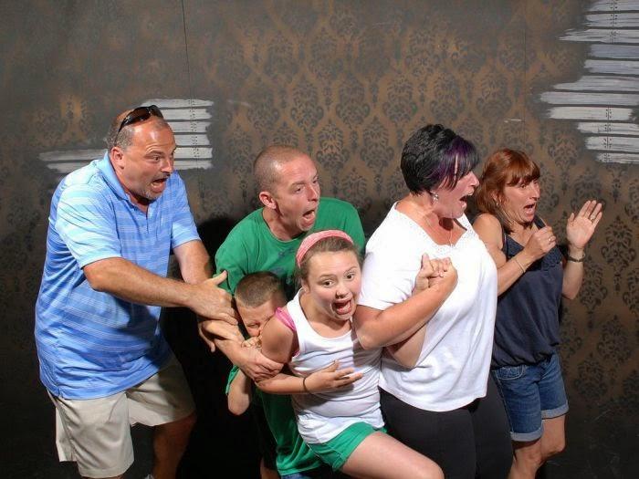 fotos de personas asustadas