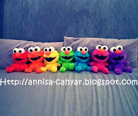 elmo rainbow