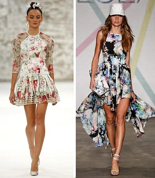 %C3%A7i%C3%A7ekli+trend+2013 2013 Çiçekli elbise modelleri