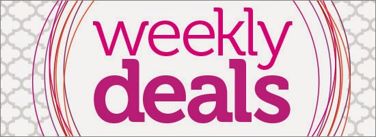 Weekly Deals from Stampin 'Up! Check them out on SU site!