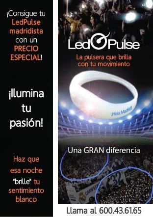La pulsera para aplaudir al Real Madrid