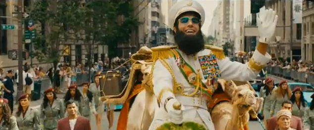 The Dictator 2012 comedy film title may 2012 satire comedy film about a dictator visiting america the birth place of aids