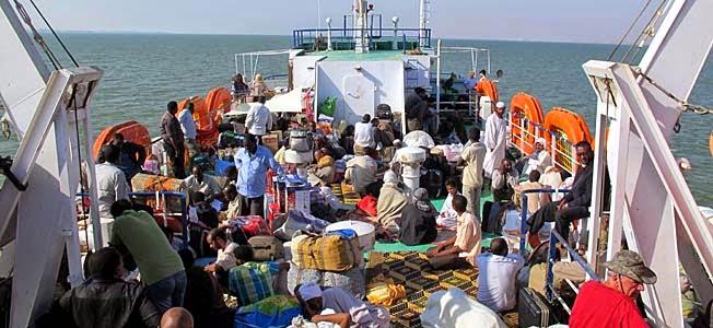 Strasse zwischen Sudan und Ägypten - der neue Grenzübergang für Fernreisende auf der Ostroute