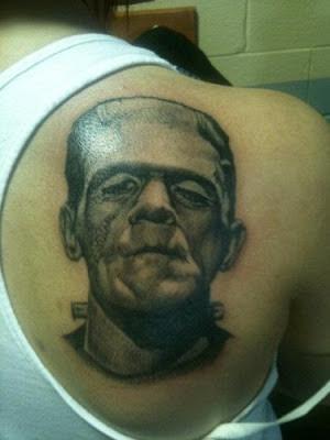 Tatuaje de Frankenstein