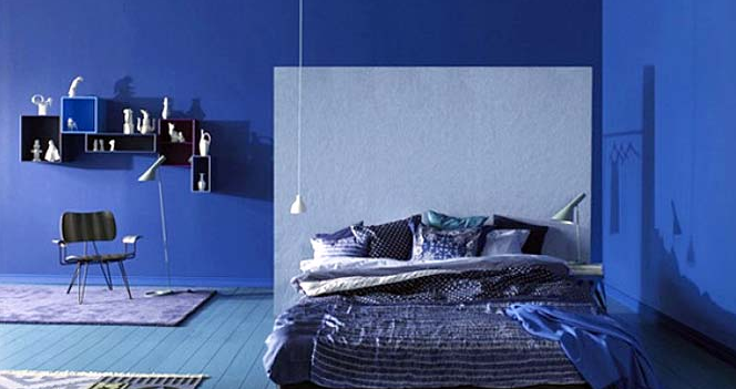 cat kamar tidur minimalis warna biru: Cat kamar tidur warna biru cat kamar tidur minimalis warna biru
