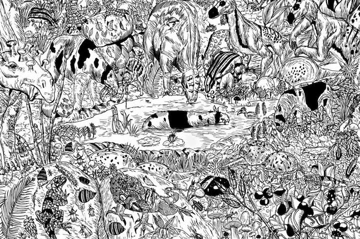 Mind-blowing drawings of wildlife