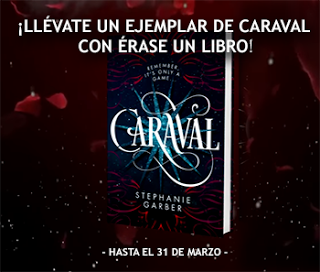 ¡Participa y gana un ejemplar de Caraval!