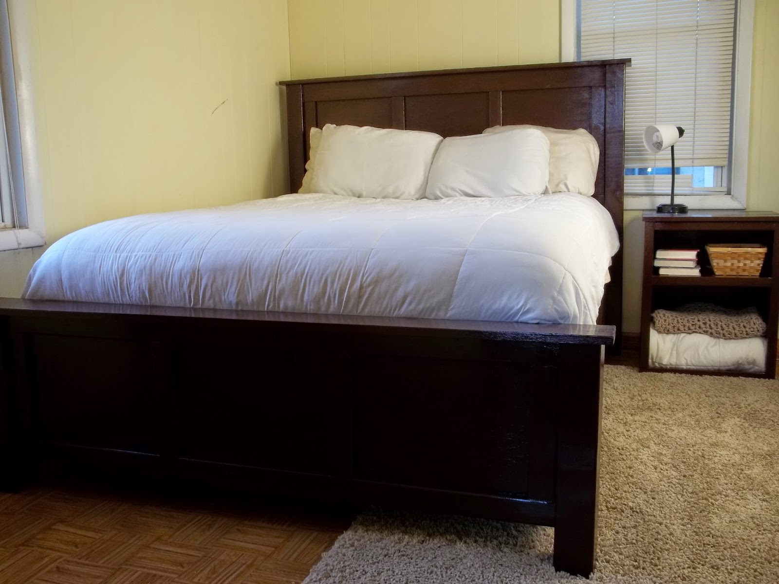 Jaime Of All Trades DIY Pottery Barn Inspired Hudson Queen Sized Bed