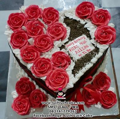Kue Tart Blackforest Coklat Mawar Daerah Surabaya - Sidoarjo