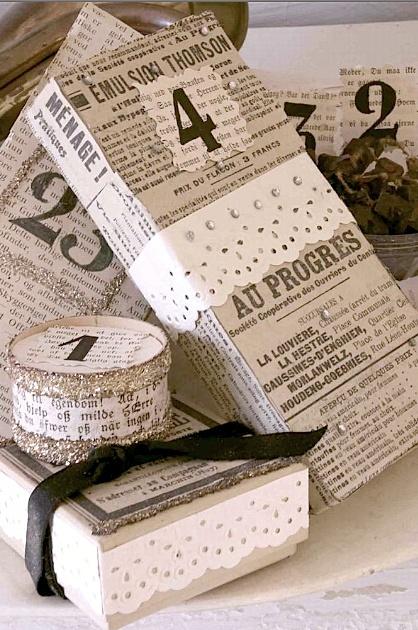 19 Ideias de embalagens artesanais para presentes