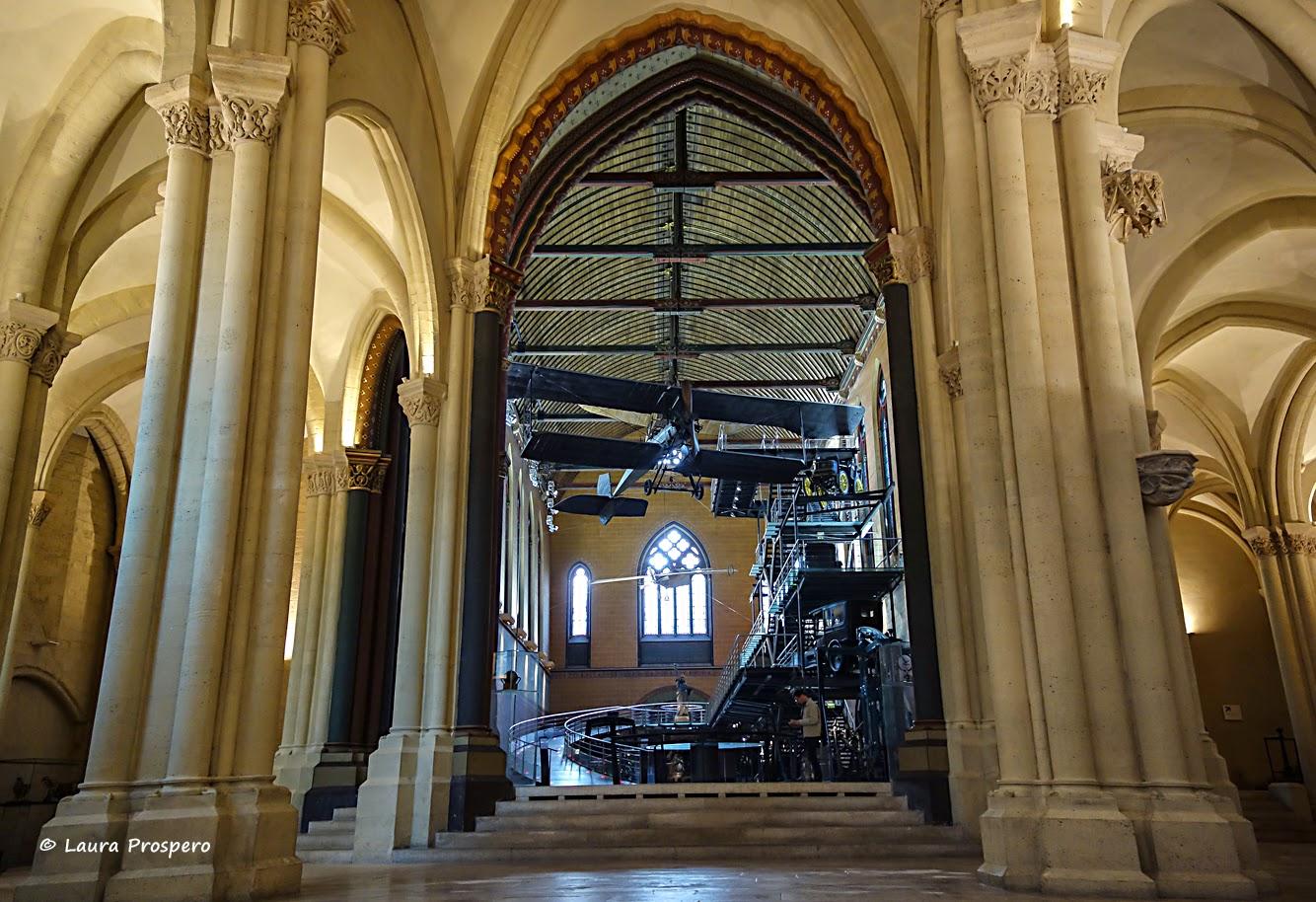 église de Saint-Martin-des-Champs - musée des arts et métiers, Paris © Laura Prospero