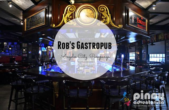 Robs Gastropub in Angeles City