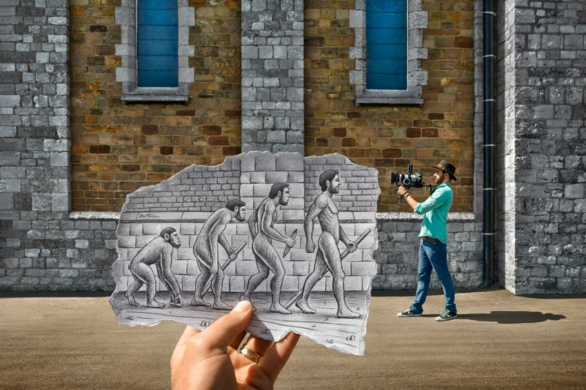 Benjamin Heine, Pencil vs. Camera